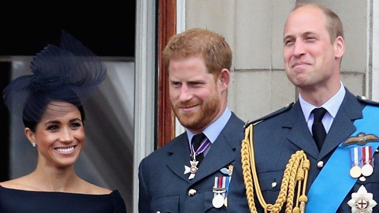 Meghan Markle, Príncipe Harry, Príncipe William