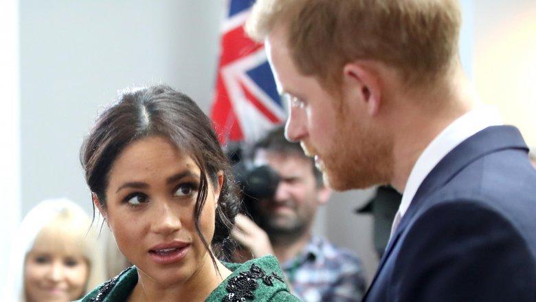 Meghan Markle, Príncipe Harry