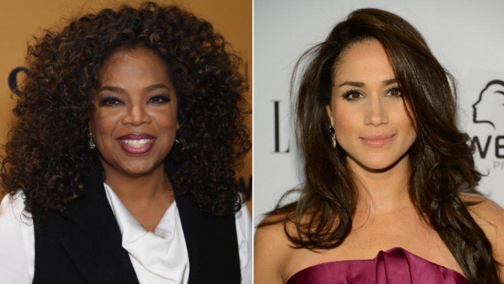 Oprah Winfrey y Meghan Markle