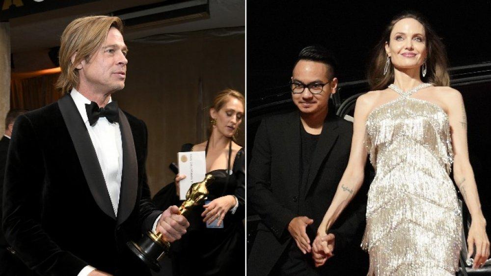 Brad Pitt, Maddox, Angelina Jolie