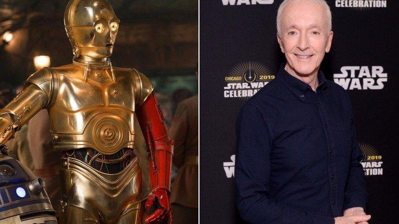 C-3PO Anthony Daniels