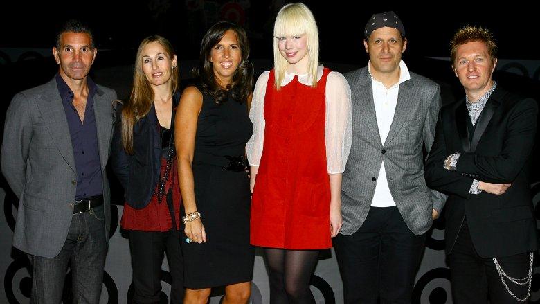 Mossimo Giannulli en un desfile de moda de Target
