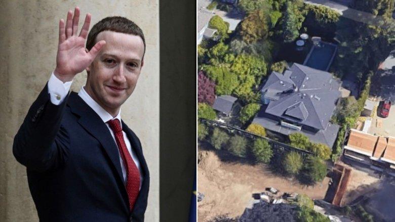 La casa de Mark Zuckerberg en Palo Alto