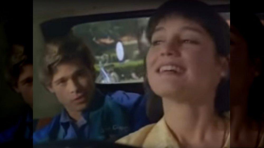 Brad Pitt, Jill Schoelen