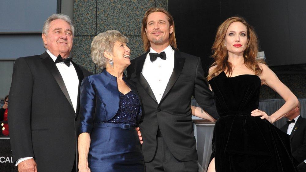 William Pitt, Jane Pitt, Brad Pitt, Angelina Jolie