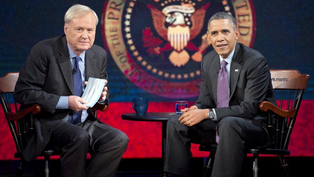 Chris Matthews, Barack Obama