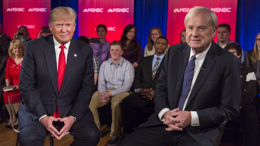 Donald Trump, Chris Matthews