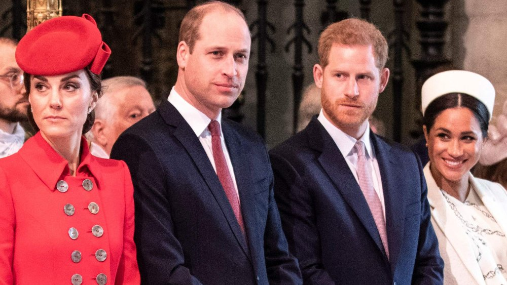 Kate Middleton, Príncipe William, Príncipe Harry, Meghan Markle