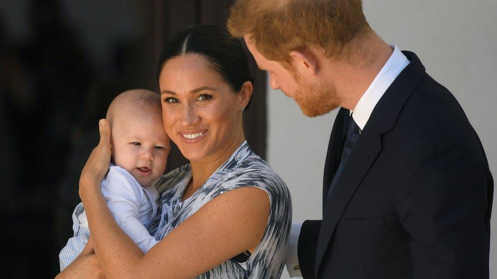 Meghan Markle, el príncipe Harry y el bebé Archie