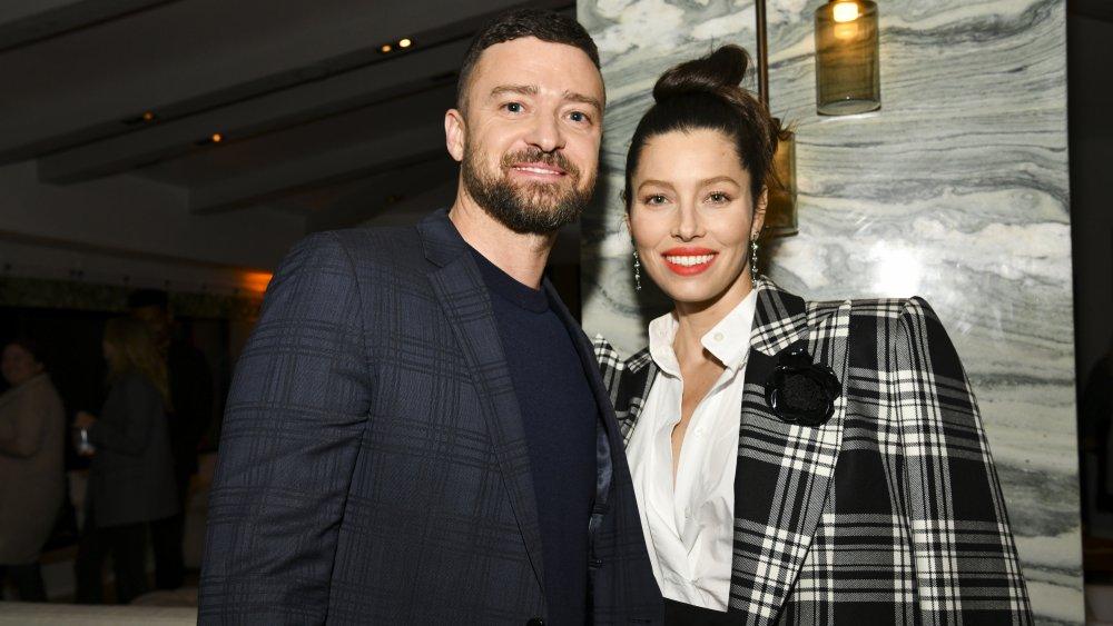 Justin Timberlake. Jessica Biel