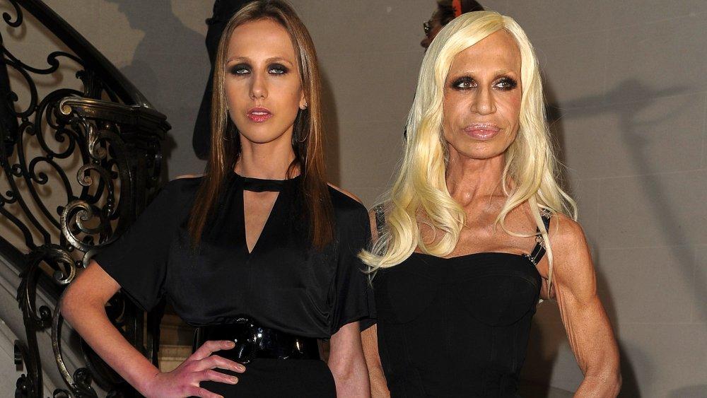 Allegra Versace Beck, Donatella Versace