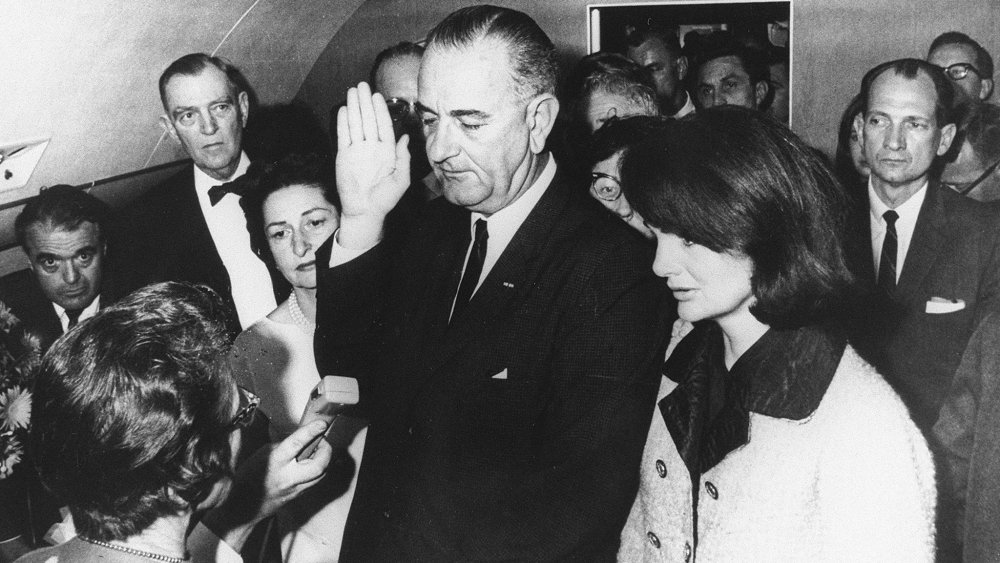 Lyndon B. Johnson, Jackie Kennedy