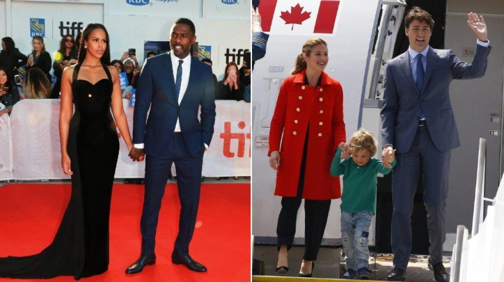 Sabrina Dhowre Elba, Idris Elba, Sophie Grégoire Trudeau, Hadrien Trudeau, Justin Trudeau