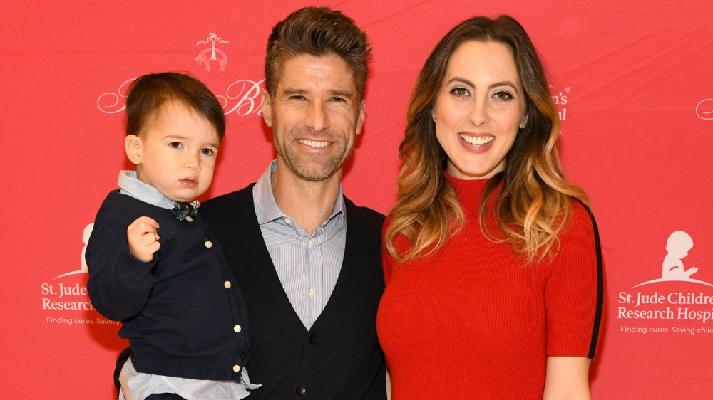 Eva Amurri y Kyle Martino con su hijo mayor James Martino
