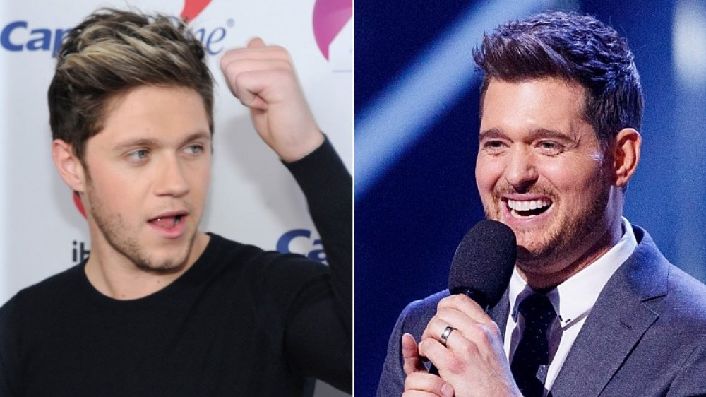 Niall Horan, Michael Bublé