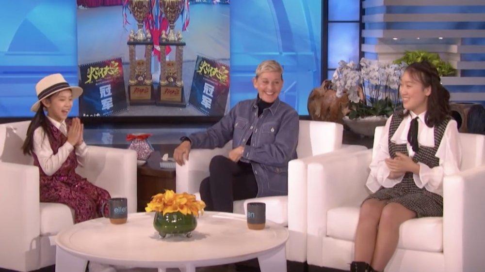 Seta Lil ', Ellen DeGeneres, Grace Liu