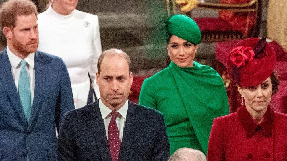 Príncipe Harry, Príncipe William, Meghan Markle y Kate Middleton