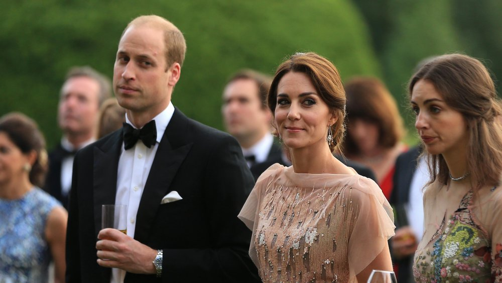 Prince William, Kate Middleton and Rose Hanbury