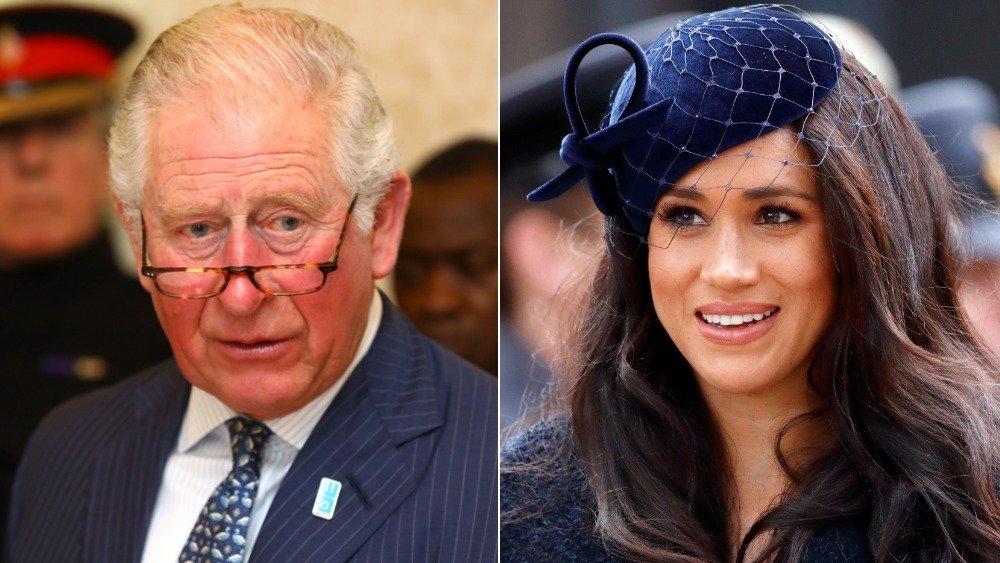 Príncipe Carlos y Meghan Markle