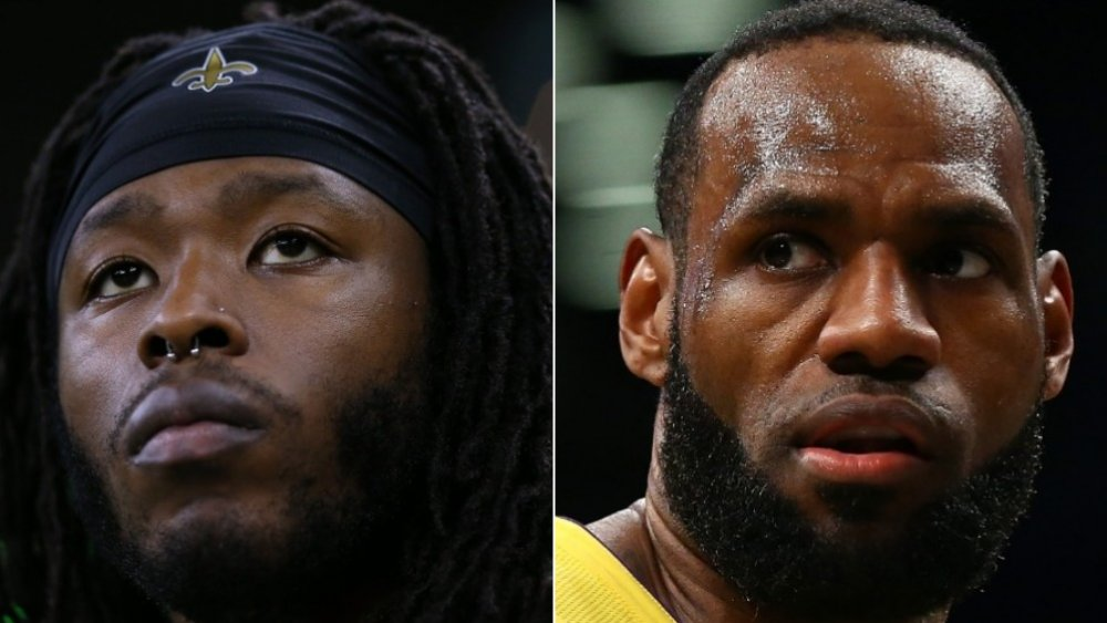 Alvin Kamara, LeBron James