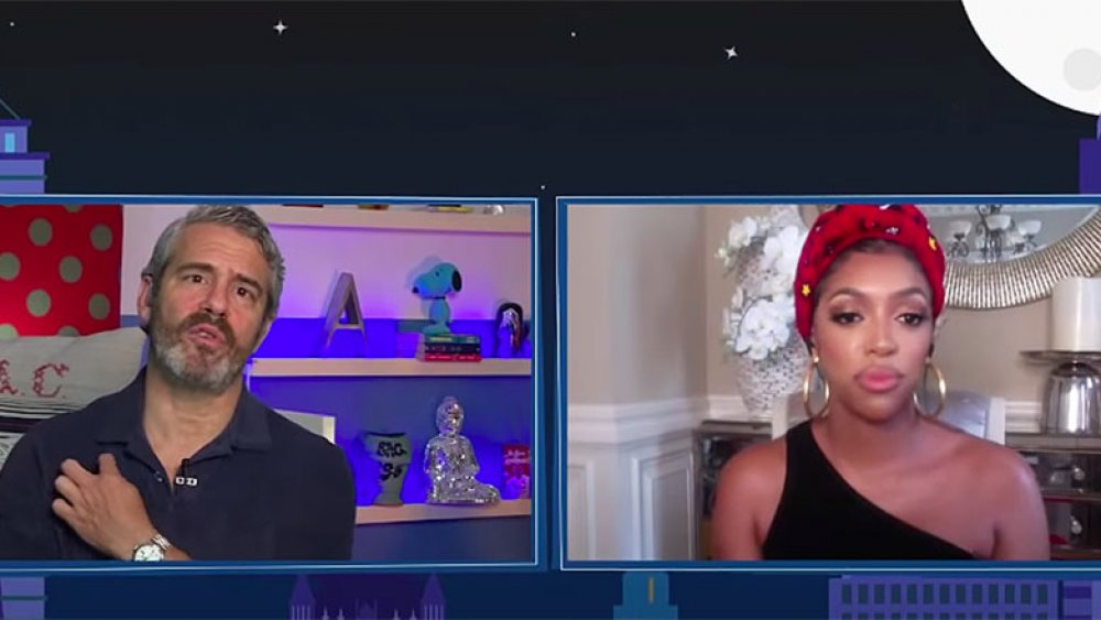 Andy Cohen y Porsha Williams