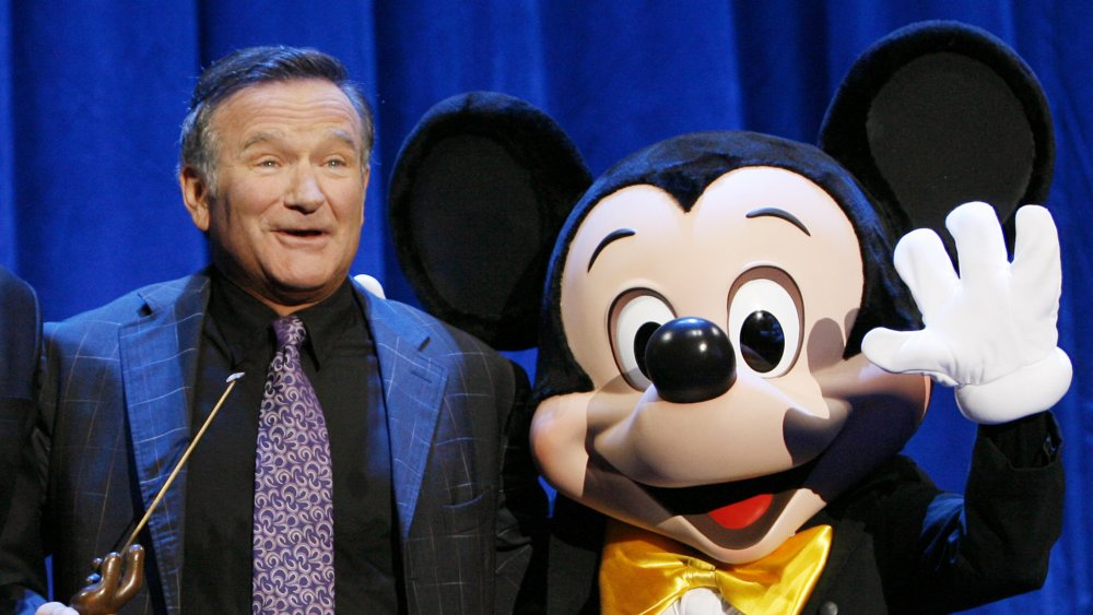 Robin Williams, Mickey Mouse
