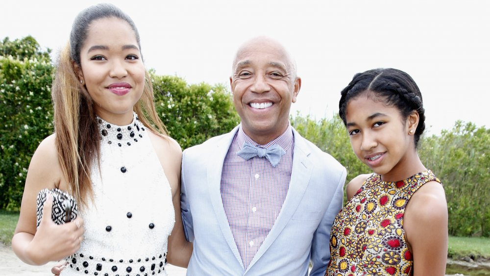 Ming Lee Simmons, Russell Simmons, Aoki Lee Simmons