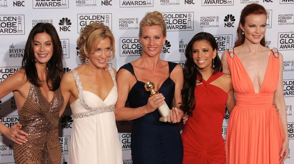 Teri Hatcher, Felicity Huffman, Nicollette Sheridan, Eva Longoria y Marcia Cross