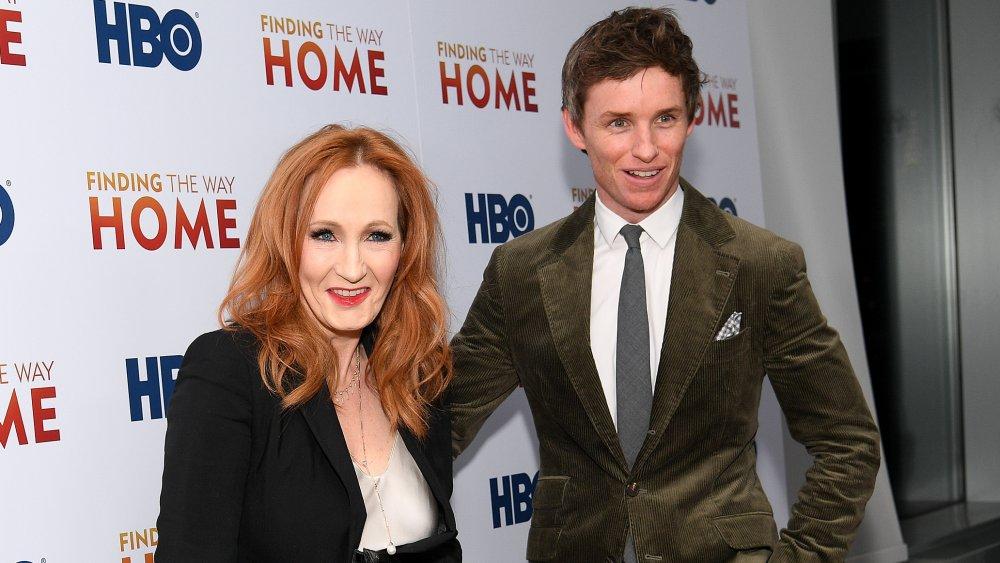 J.K. Rowling, Eddie Redmayne