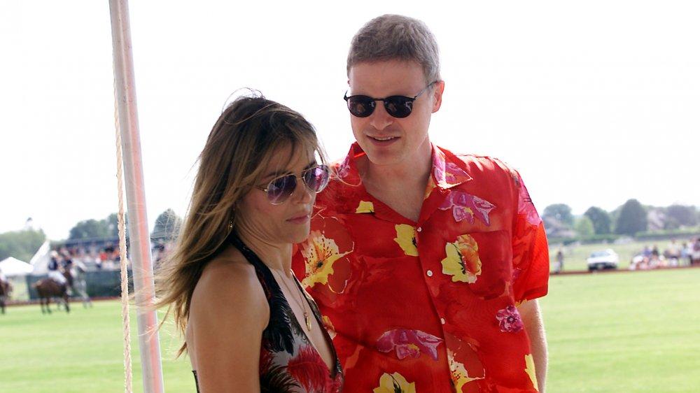 Elizabeth Hurley y Steve Bing