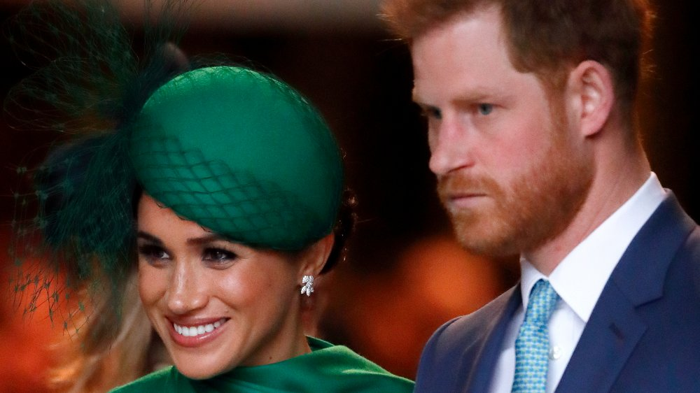 Meghan, duquesa de Sussex y el príncipe Harry, duque de Sussex, asisten al Commonwealth Day Service 2020 en la Abadía de Westminster