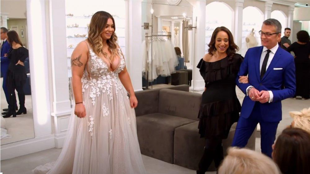 Victoria Caputo, Nicole Sacco y Randy Fenoli en Di sí al vestido