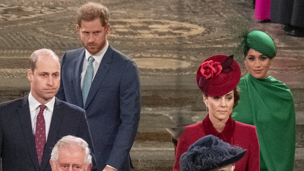 Príncipe Harry, Príncipe William, Meghan Markle, Kate Middleton