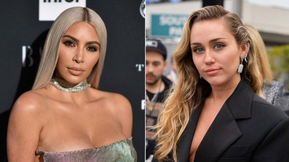 Kim Kardashian y Miley Cyrus