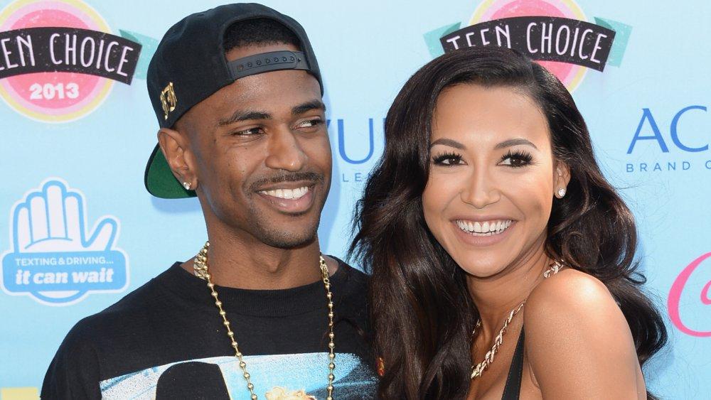 Big Sean y Naya Rivera en los Teen Choice Awards 2013