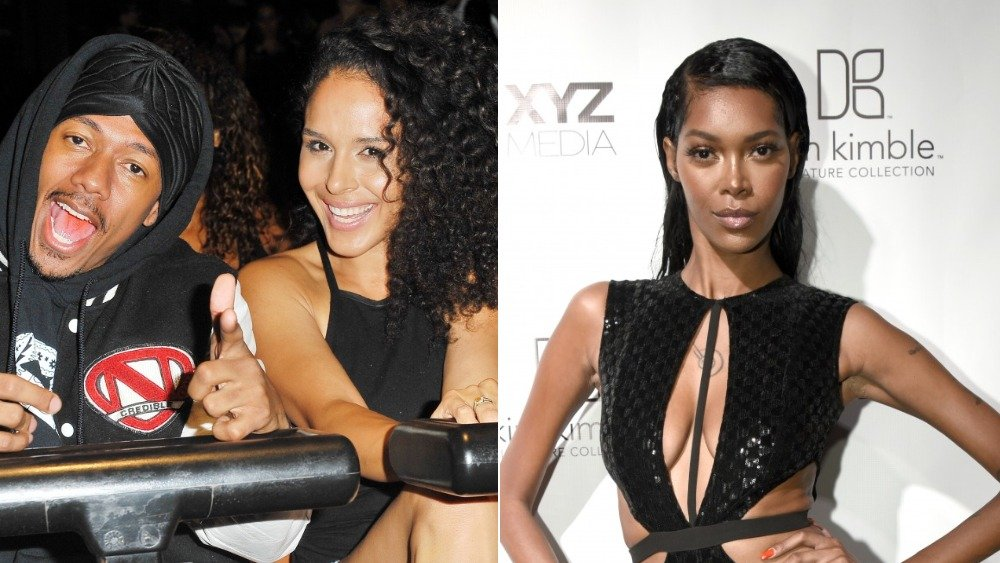 Nick Cannon, Brittany Bell, Jessica White
