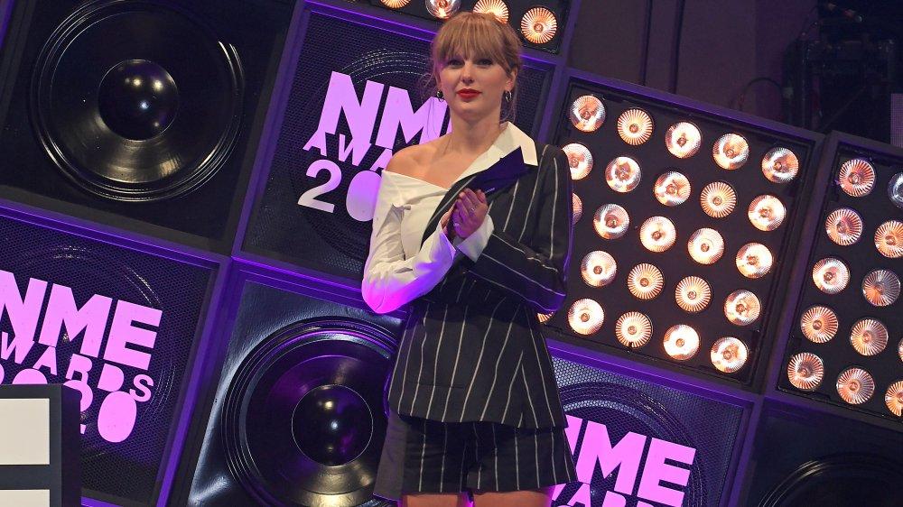 Taylor Swift en los Premios NME 2020