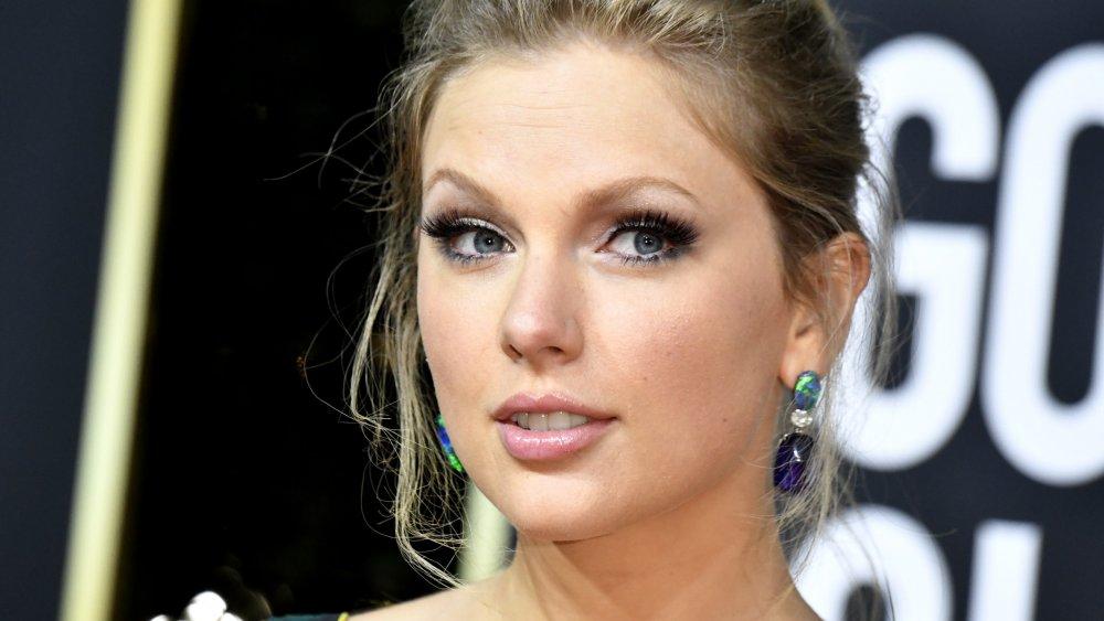 Taylor Swift en la 77a Anual de los Golden Globe Awards