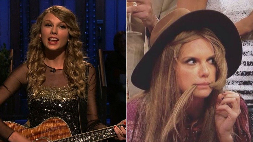 Taylor Swift en Saturday Night Live