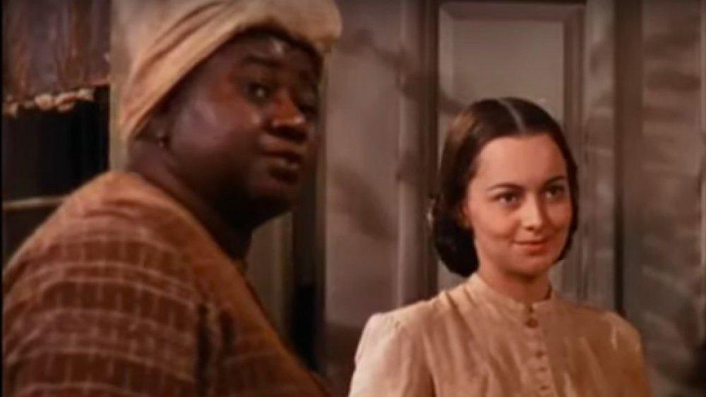 Hattie McDaniel, Olivia de Havilland en Lo que el viento se llevó