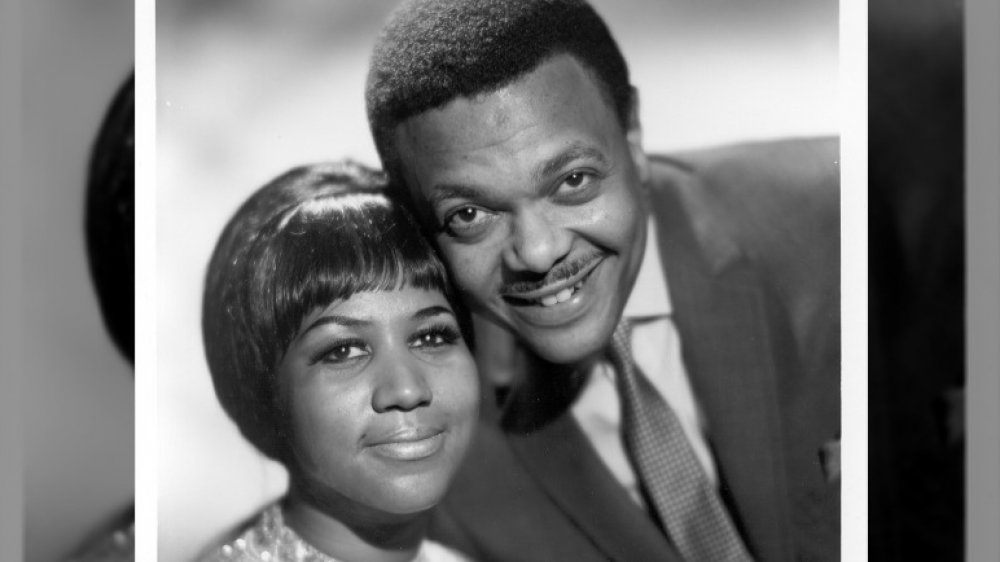 Aretha Franklin con Ted White