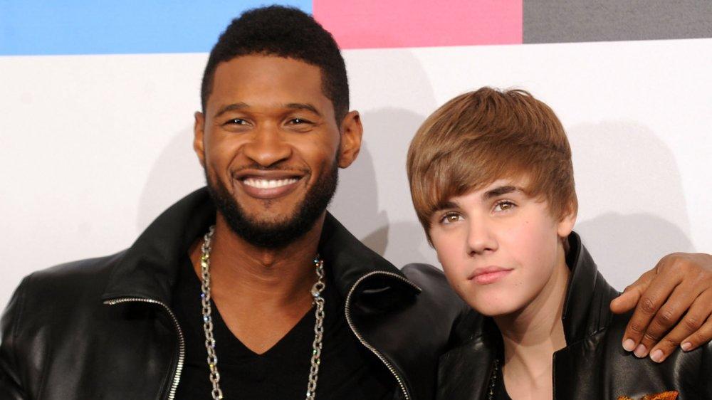 Justin Bieber y Usher