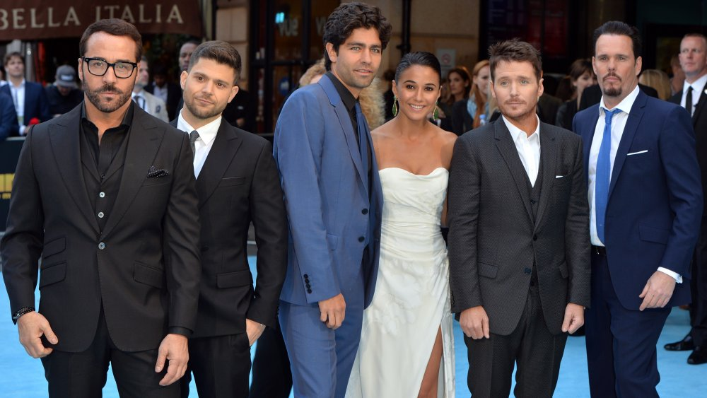 The cast of Entourage at the film premiere
