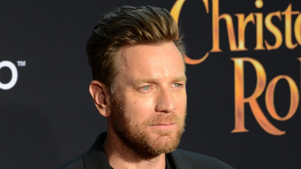 Ewan McGregor attending the Christopher Robin premiere in 2018