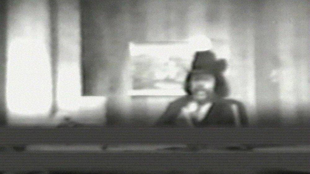 Al Sharpton en un fotograma de una cinta de vigilancia del FBI