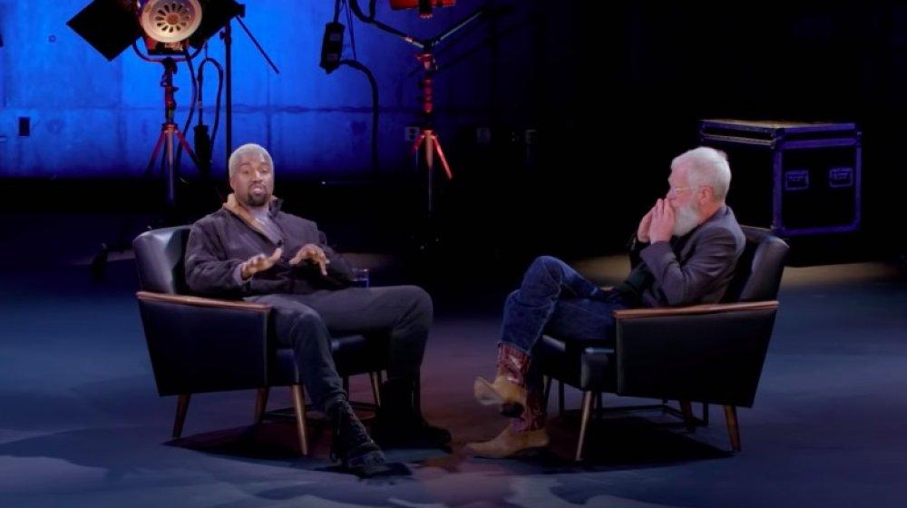 Kanye West, David Letterman en Mi próximo invitado no necesita presentación