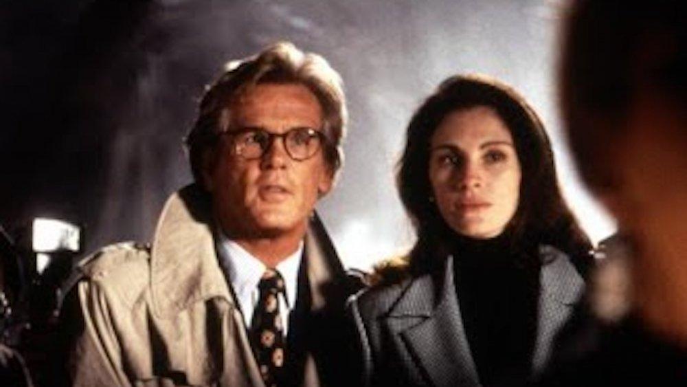 Nick Nolte y Julia Roberts en I Love Trouble