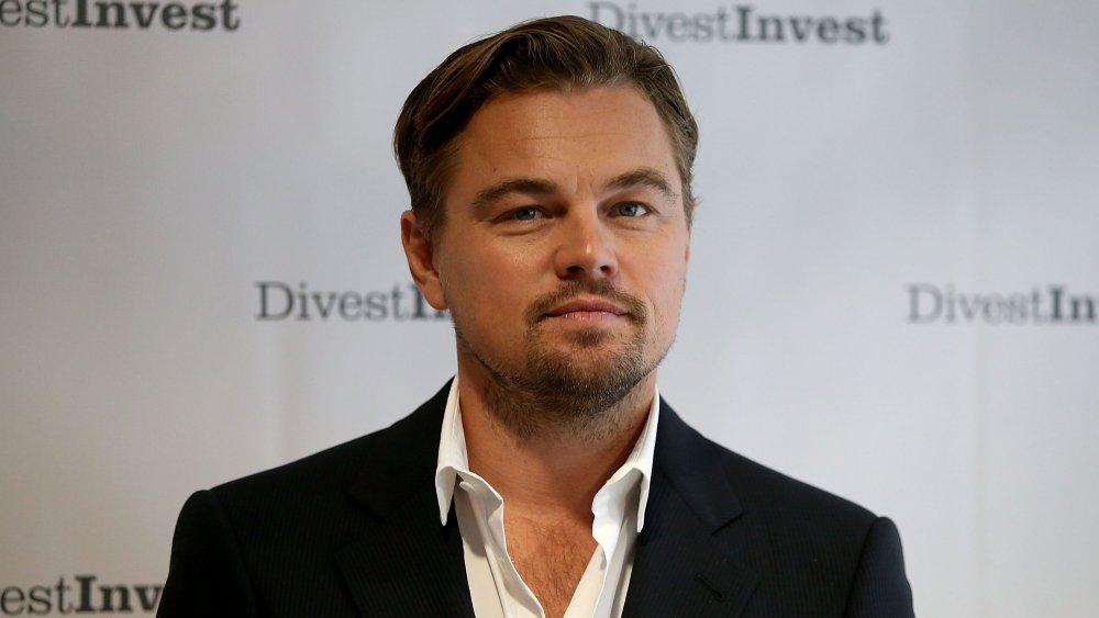 Leonardo DiCaprio en un evento para DivestInvest