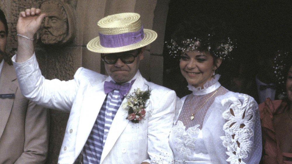 Elton John y Renate Blauel