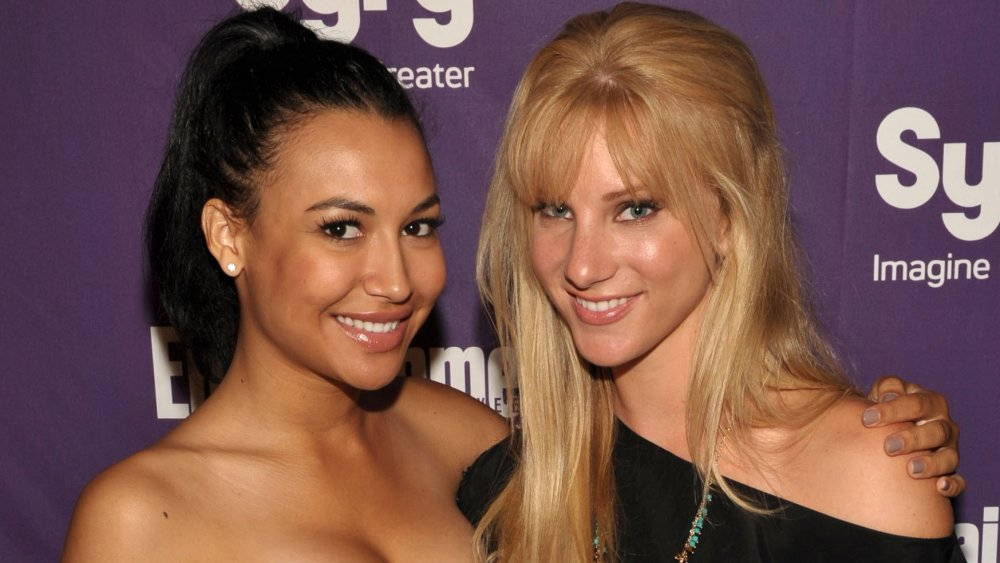 Naya Rivera y Heather Morris